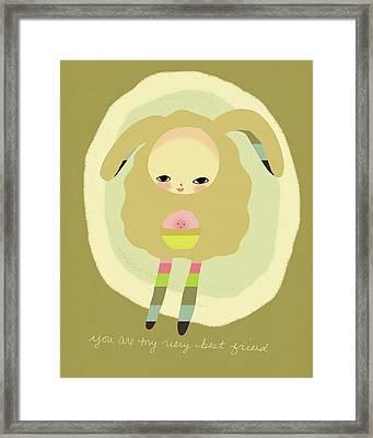 Best Friend Framed Print by Lisa Barbero