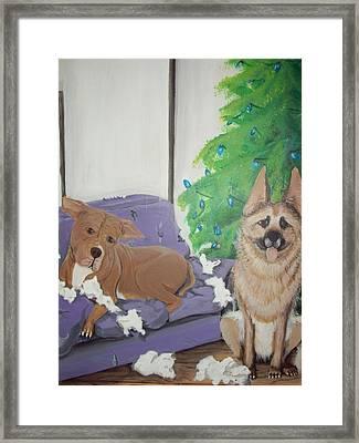 Best Friends Framed Print by Gerard Provost