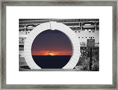 Best Wishes Framed Print by Luke Moore