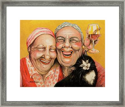 Bestest Friends Framed Print by Shelly Wilkerson