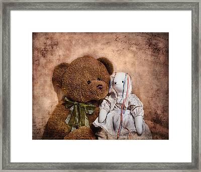 Besties Framed Print by Tom Mc Nemar
