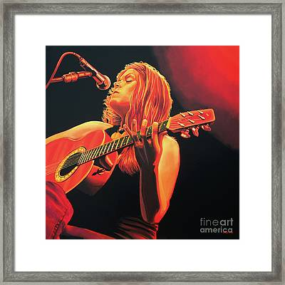 Beth Hart  Framed Print by Paul Meijering