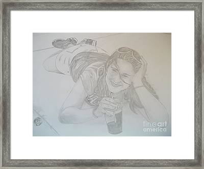 Bethany Framed Print by Justin Moore