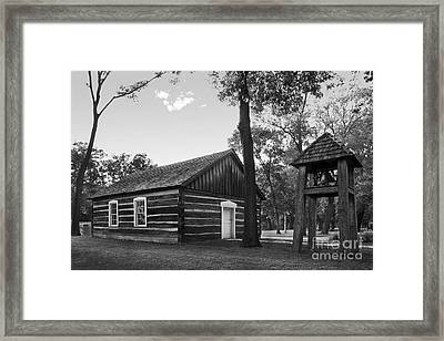 Bethel College Indiana Taylor Memorial Chapel Framed Print by University Icons