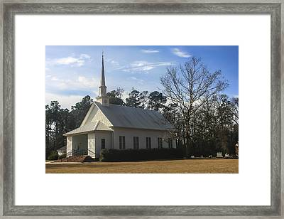 Bethel United Methodist Church Framed Print by Steven  Taylor