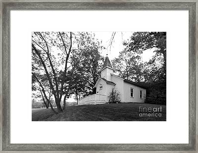 Bethel University Scandia Church Framed Print by University Icons