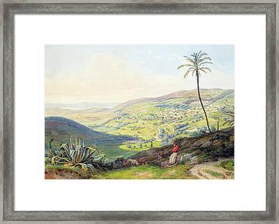 Bethlehem 1842 Framed Print by Munir Alawi