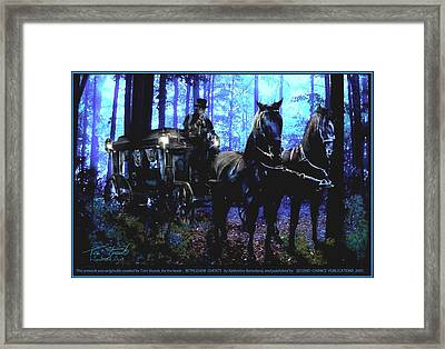 Bethlehem Ghosts Framed Print by Tom Straub