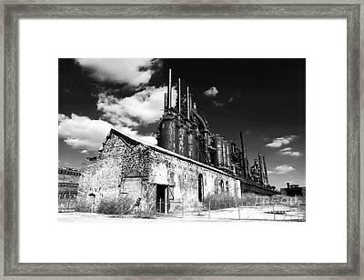 Bethlehem Steel Framed Print by John Rizzuto