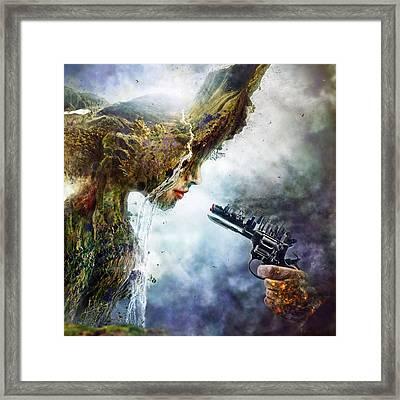 Betrayal Framed Print by Mario Sanchez Nevado