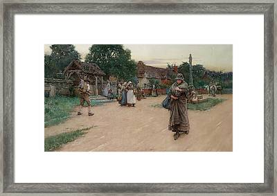Betrayed Framed Print by Walter Langley