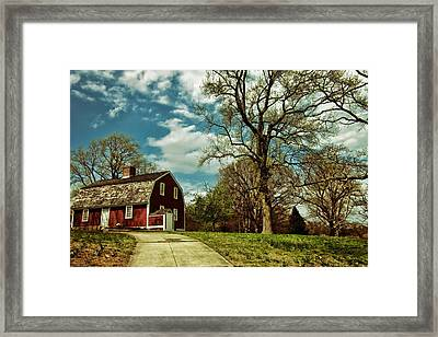 Betsy William's House Framed Print by Lourry Legarde