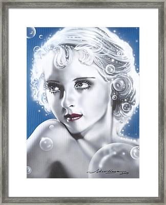 Bette Davis Framed Print by Alicia Hayes