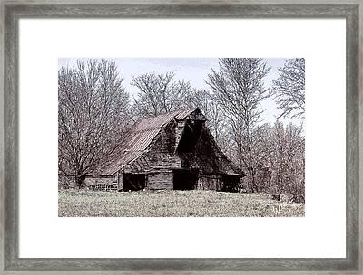 Better Days Framed Print by Bonnie Willis