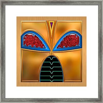 Bettina Framed Print by Wendy J St Christopher