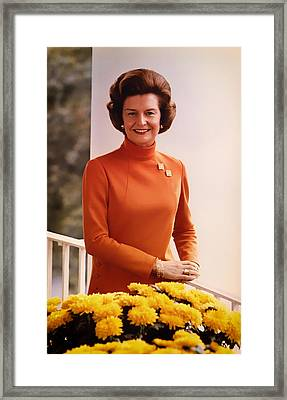 Betty Ford 1974 Framed Print by Mountain Dreams