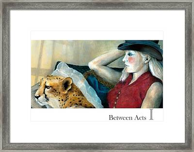Between Acts 1 Framed Print by Katherine DuBose Fuerst