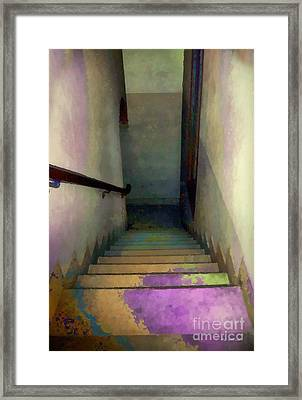 Between Floors Framed Print by RC deWinter