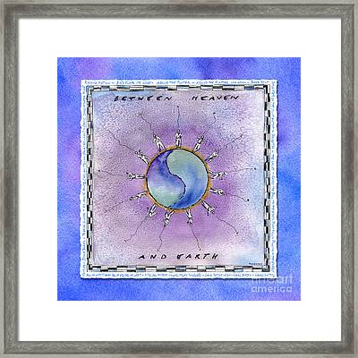 Between Heaven And Earth Framed Print by Diane Thornton