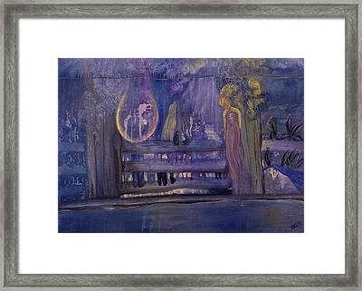 Between The Layers Framed Print by Barbara St Jean