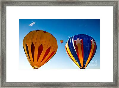 Between The Two Framed Print by Robert Bales