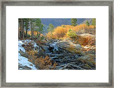 Between The Virginias Framed Print by Lynn Bauer