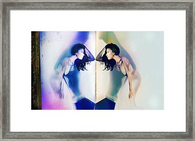 Beveled Dreams Framed Print by Starlux  Productions