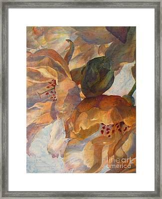 Bev's Blossoms Framed Print by Deborah Younglao