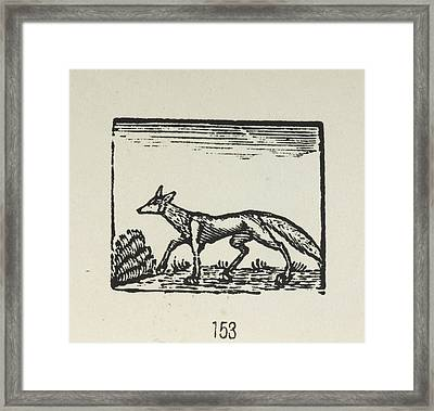 Bewick's Woodcuts Framed Print by British Library