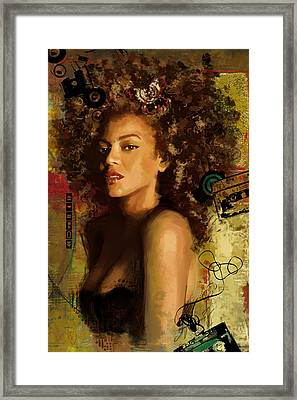Beyonce Framed Print by Corporate Art Task Force