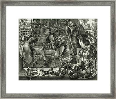 Beyond Reality Framed Print by Kenneth Cobb