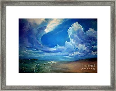 Beyond Framed Print by Robin Maria Pedrero