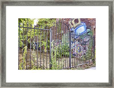 Beyond The Gate Framed Print by Jason Politte