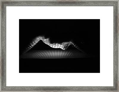 Beyond The Horizon Framed Print by Blue Muse Fine Art
