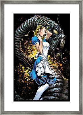 Beyond Wonderland 01a Alice Framed Print by Zenescope Entertainment