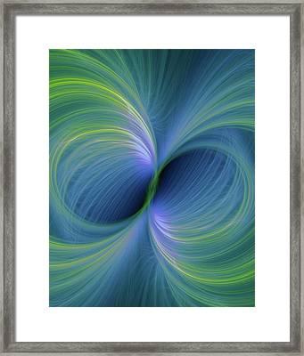Bi Polar Or Supersymmetry Concept Framed Print by David Parker