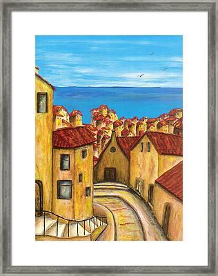 Biagi In Tuscany Framed Print by Pamela Allegretto