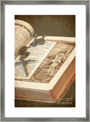 Biblical Framed Print by Sophie Vigneault