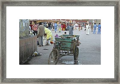 Bicycle 1 Framed Print by Russell Smidt