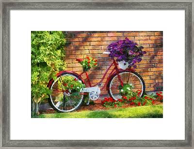 Bicycle By Doug Hagadorn Framed Print by Doug Hagadorn
