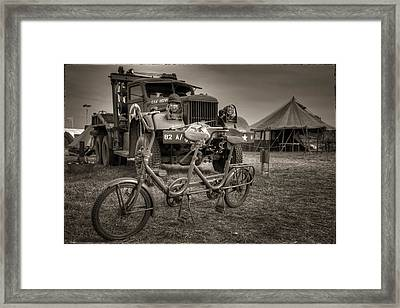 Bicycle Made For Two Framed Print by Jason Green