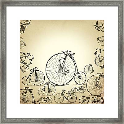 Bicycle Framed Print by Mark Ashkenazi