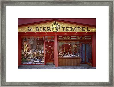 Bier Tempel Framed Print by Joan Carroll