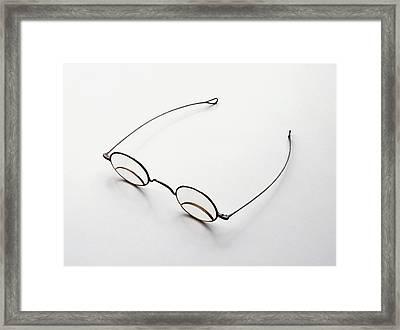 Bifocal Spectacles Framed Print by Dorling Kindersley/uig