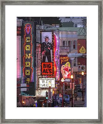 Big Al's Framed Print by Kandy Hurley