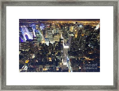 Big And Tall Apple Framed Print by Marco Crupi
