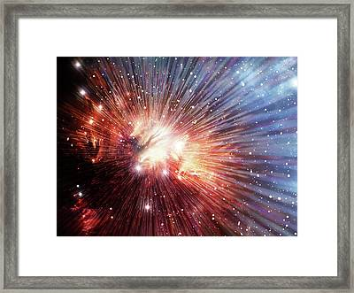 Big Bang Framed Print by Alfred Pasieka