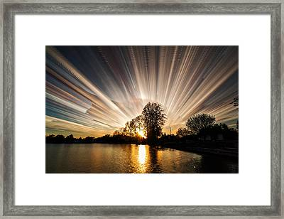 Big Bang Framed Print by Matt Molloy