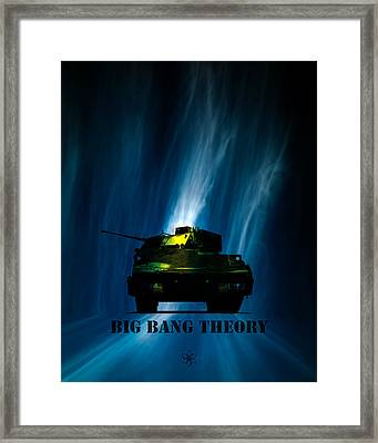 Big Bang Theory Framed Print by Bob Orsillo