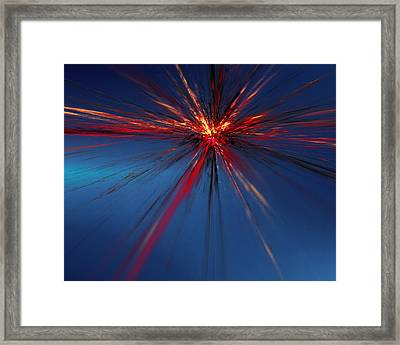 Big Bang Theory Framed Print by Jeff Iverson